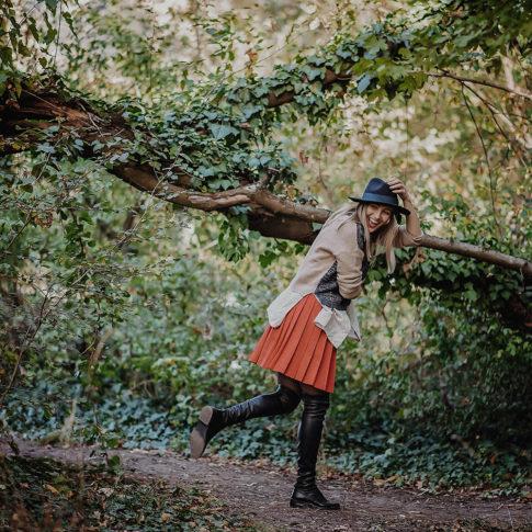 portret in natura, fotografie in natura, fashion style, sedinta foto Timisoara, sesiune foto