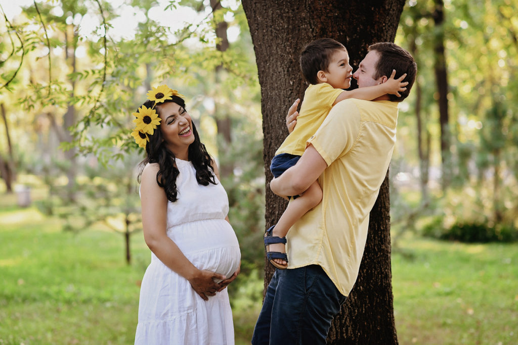 Sedinta foto de maternitate cu Familia Timisoara
