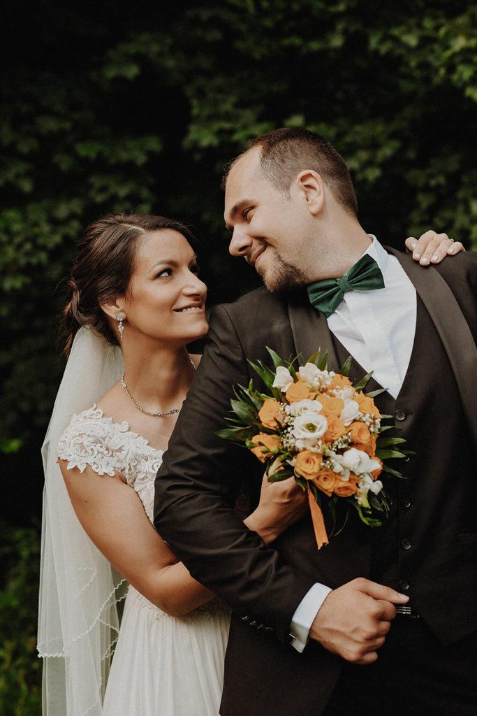 Fotografie profesionala de nunta, Portret Mire si mireasa pe domeniul Stirbei ,Bucuresti
