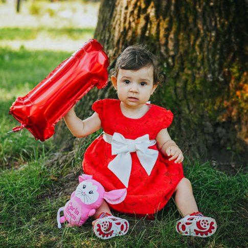 Mini sedinte foto, portret copil mic in parc