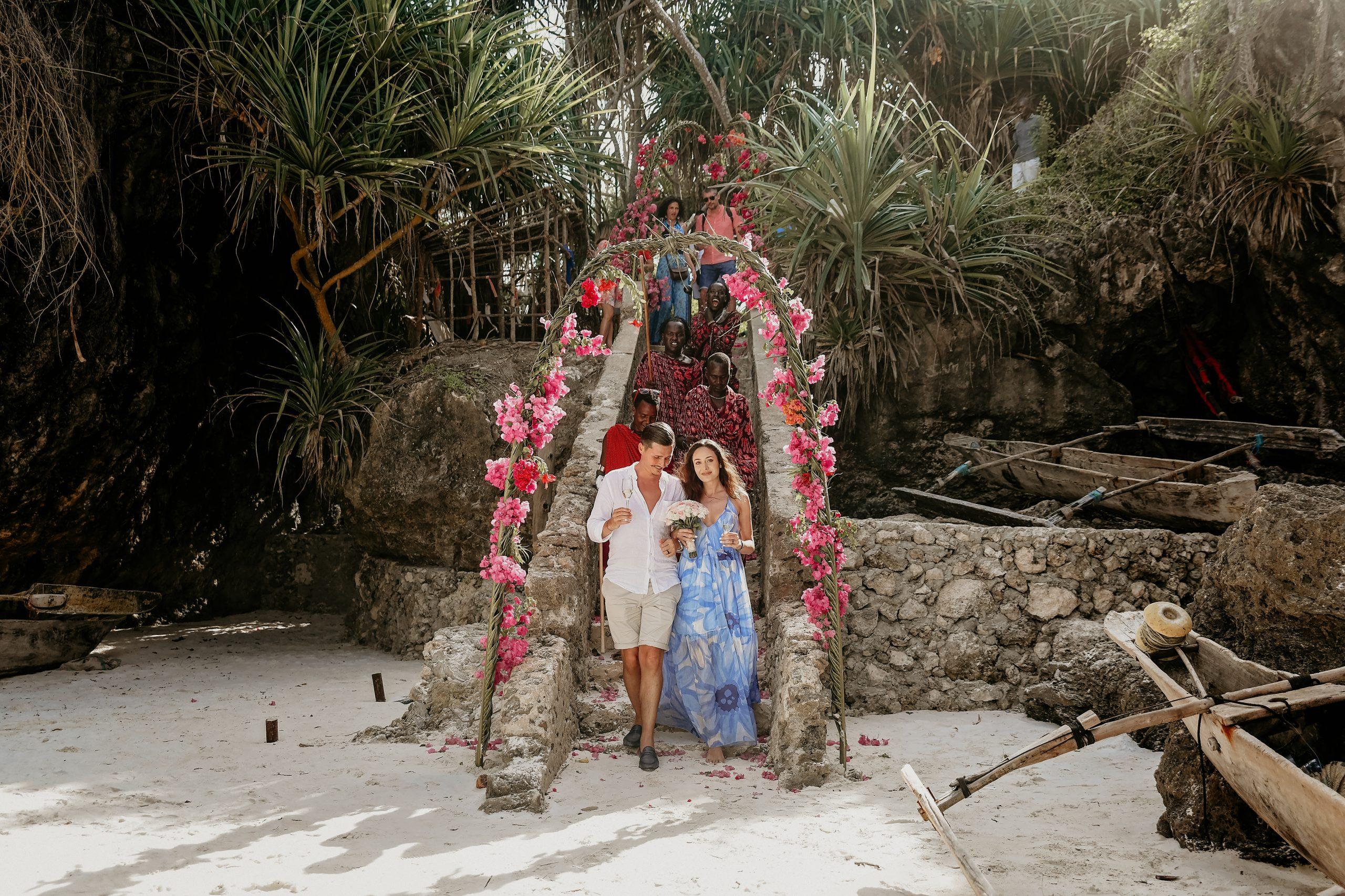 Jean și Deniz - Nunta in vacanta pe plajă in Zanzibar