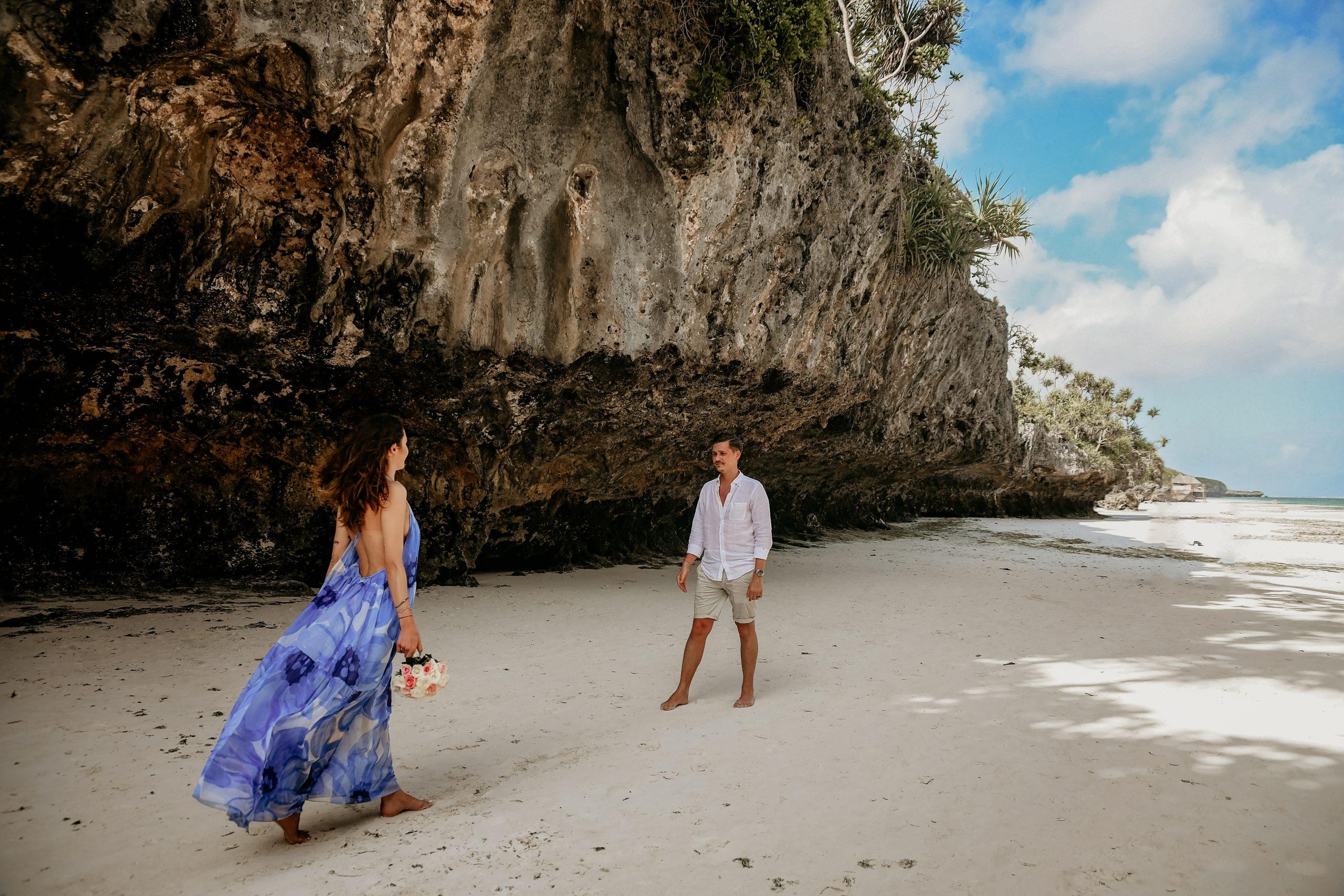 Jean și Deniz - Nunta pe Plaja, Sedinta foto pe plaja in Zanzibar